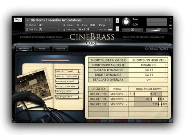 Buy CineSamples CineBrass CORE