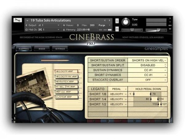 Buy Cinesamples CineBrass Core and CineWinds Core Bundle