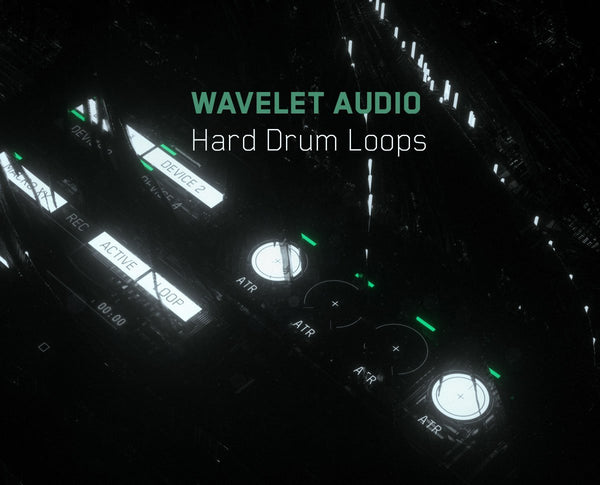 FREE Wavelet Audio Hard Drums