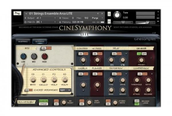 Install CineSamples CineSymphony LITE