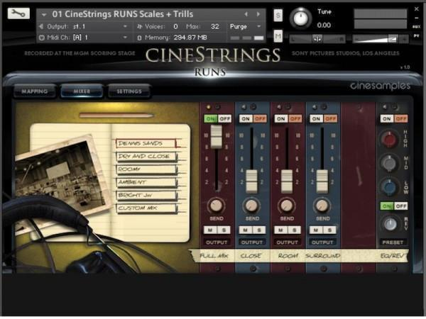 Cinesamples Cinestrings Runs + Hollywoodwinds Bundle