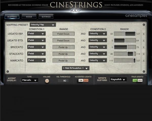 Install CineSamples CineStrings Solo