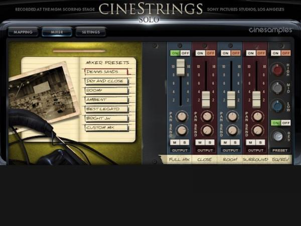 Review CineSamples CineStrings Solo