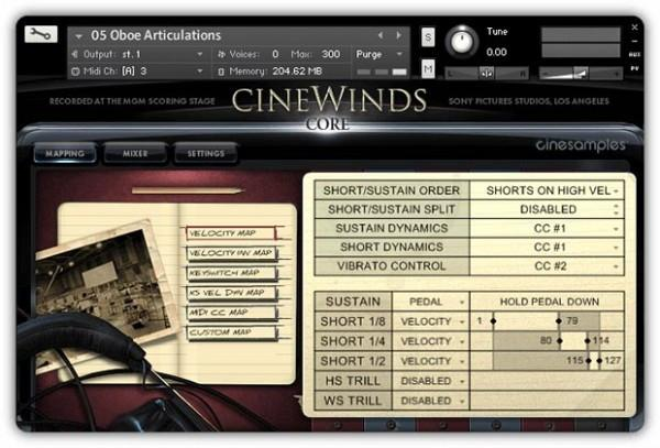 Buy CineSamples CineWinds CORE