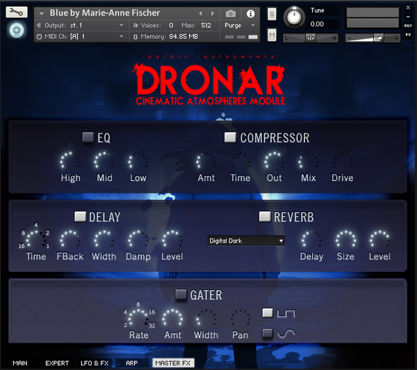 Gothic Instruments DRONAR Cinematic Atmospheres EDUCATION