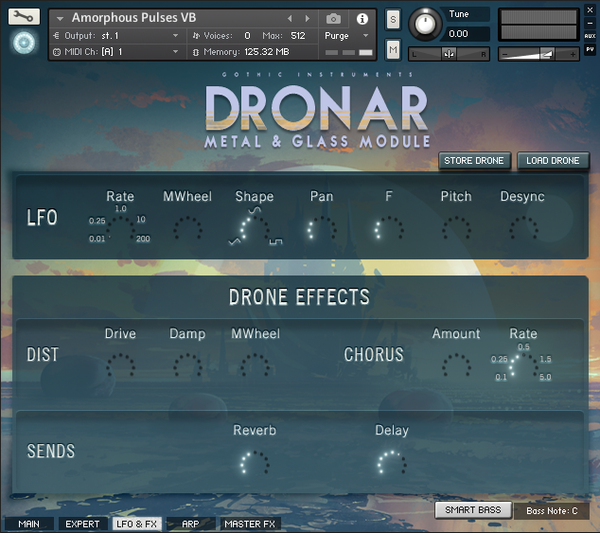 Review DRONAR Metal and Glass