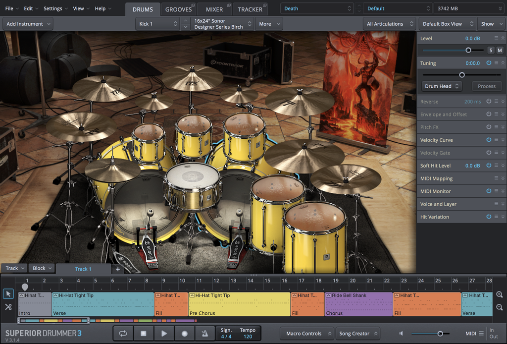 Toontrack SDX: Death & Darkness EDUCATION