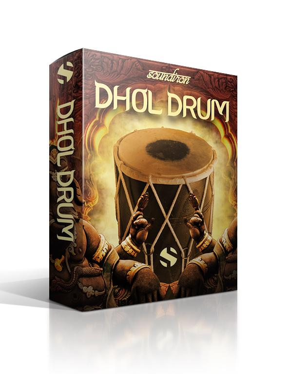 Soundiron Dhol Drum Box Art