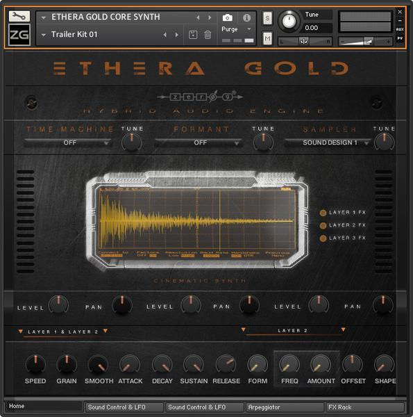 Zero-G Ethera Gold