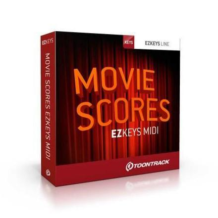 Toontrack EZkeys Movie Scores MIDI Pack