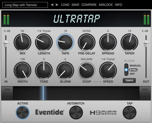 Eventide UltraTap GUI