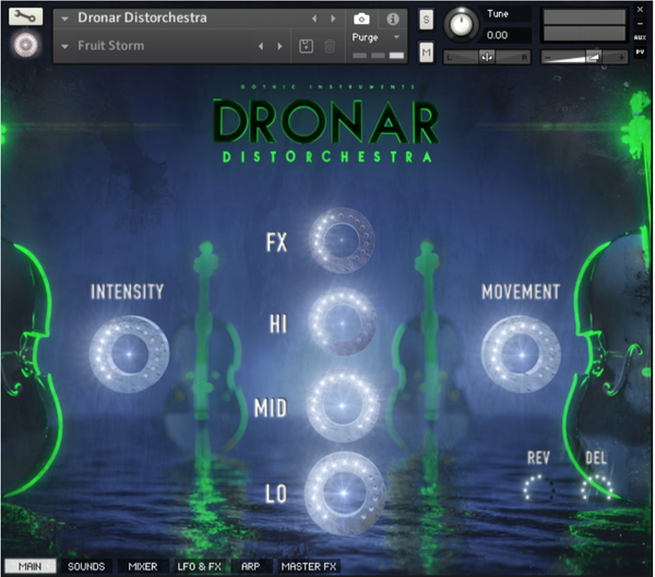Gothic Instruments DRONAR Distorchestra EDUCATION