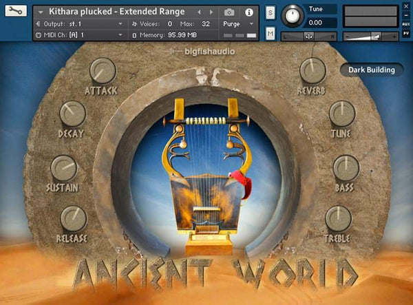 Big Fish Audio Ancient World: Instruments of Antiquity