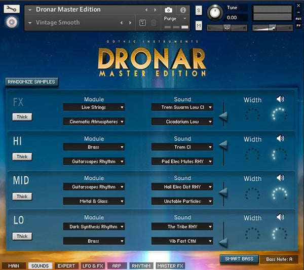 Gothic Instruments Dronar Master Edition  EDUCATION