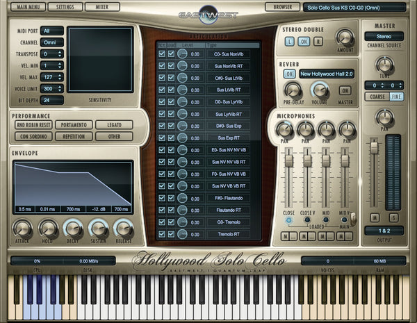 Interface EastWest Hollywood Solo Series Bundle