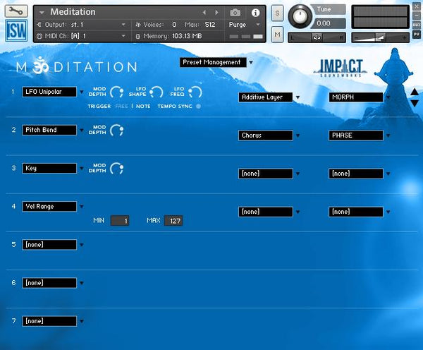 Review Impact Soundworks Meditation