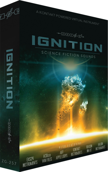 Zero-G Ignition: Science Fiction Sounds