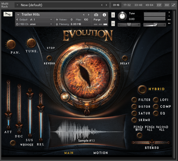 KeepForest Evolution Dragon GUI