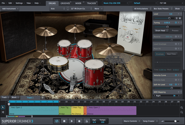Toontrack SDX: Music City USA EDUCATION