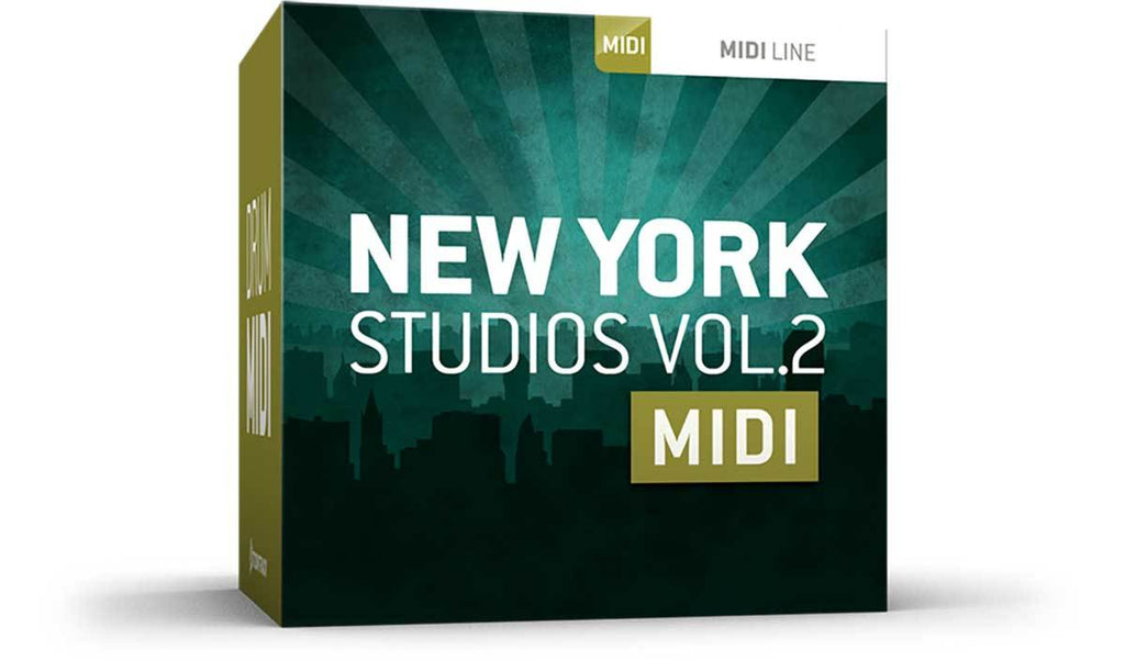 Toontrack New York Studios Vol 2 MIDI