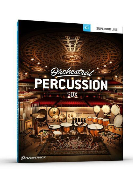 Toontrack SDX: Orchestral Percussion EDUCATION