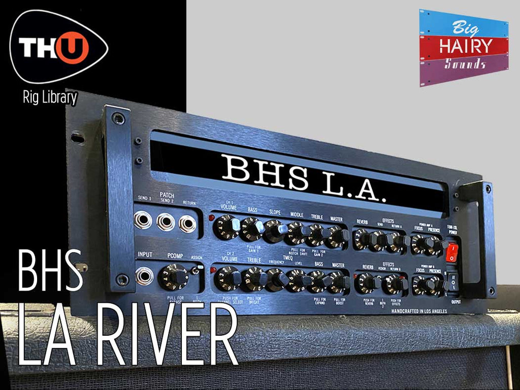 Overloud BHS LA RIVER TH-U Rig Library