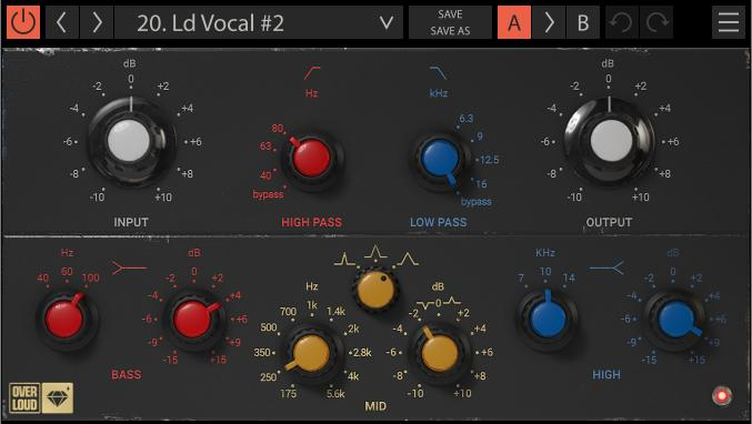 Overloud Gem EQ495 Super Musical EQ
