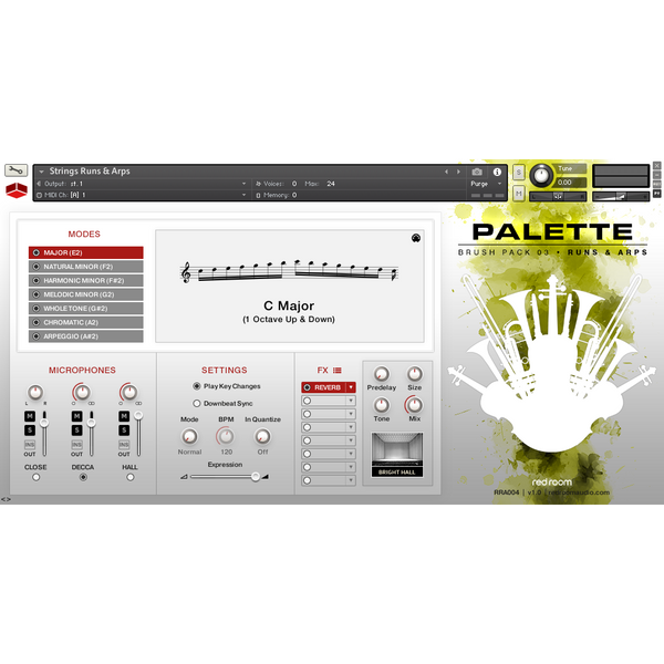 Buy Red Room Audio Palette Brush Pack 03 Runs and Arps