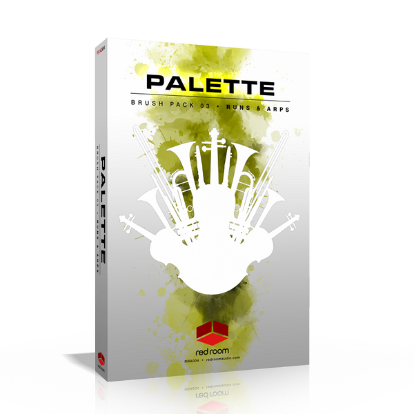 Download Red Room Audio Palette Brush Pack 03 Runs and Arps
