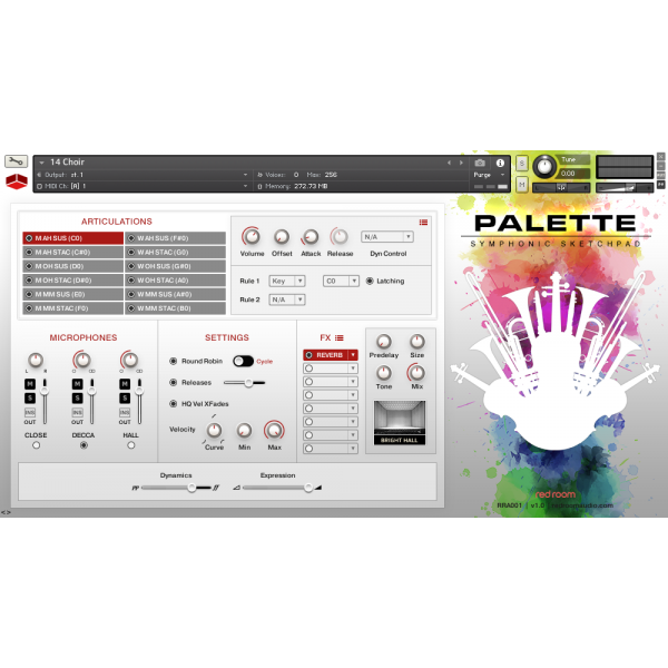 Buy Red Room Audio Palette Symphonic Sketchpad