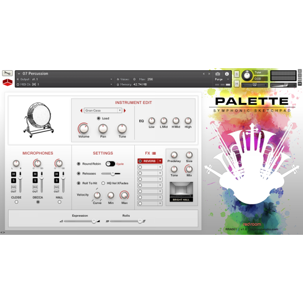 Review Red Room Audio Palette Symphonic Sketchpad
