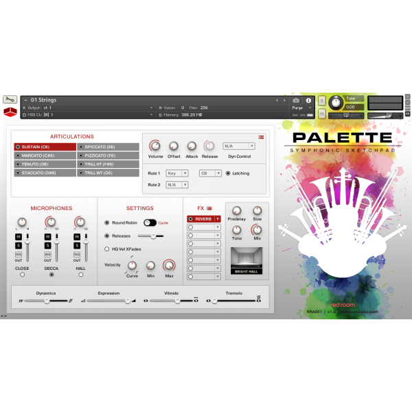 Install Red Room Audio Palette Symphonic Sketchpad