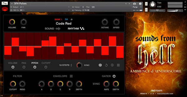 Red Room Audio Sounds From Hell - Ambience & Underscore