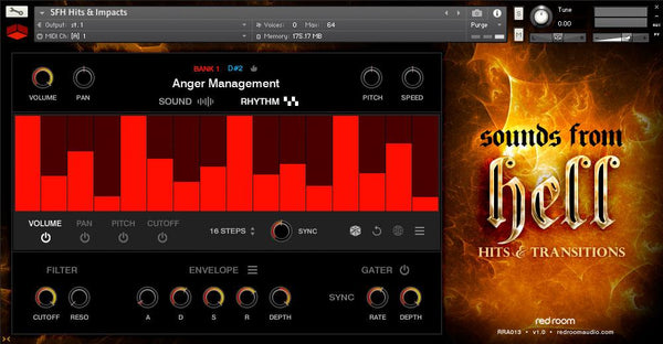 Red Room Audio Sounds From Hell - Hits & Transitions