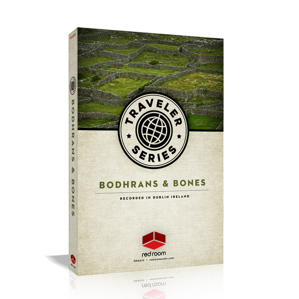 Red Room Audio Traveler Series Bodhrans & Bones