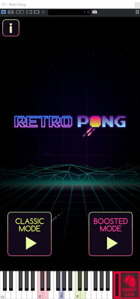 Free Lunatic Audio Retro Pong