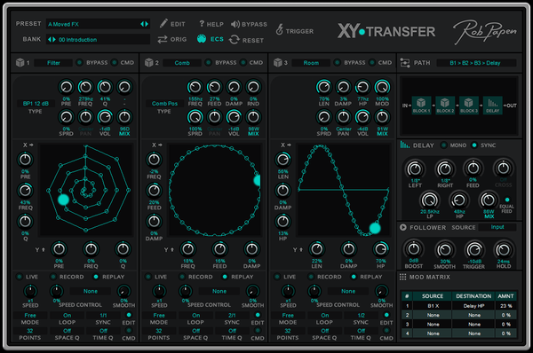 FREE Rob Papen XY-Transfer demo version