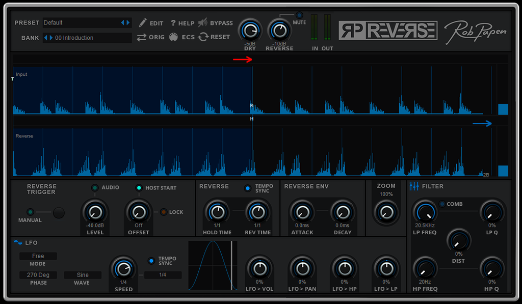 Rob Papen RP Reverse EDUCATION