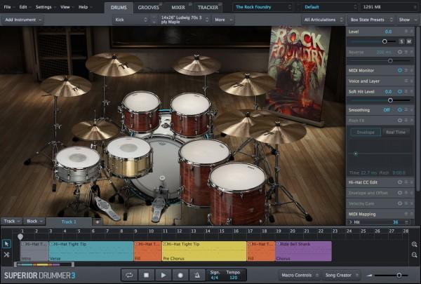 GUI Toontrack SDX: The Foundry BUNDLE