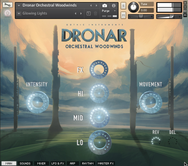 Gothic Instruments DRONAR Orchestral WoodWinds EDUCATION