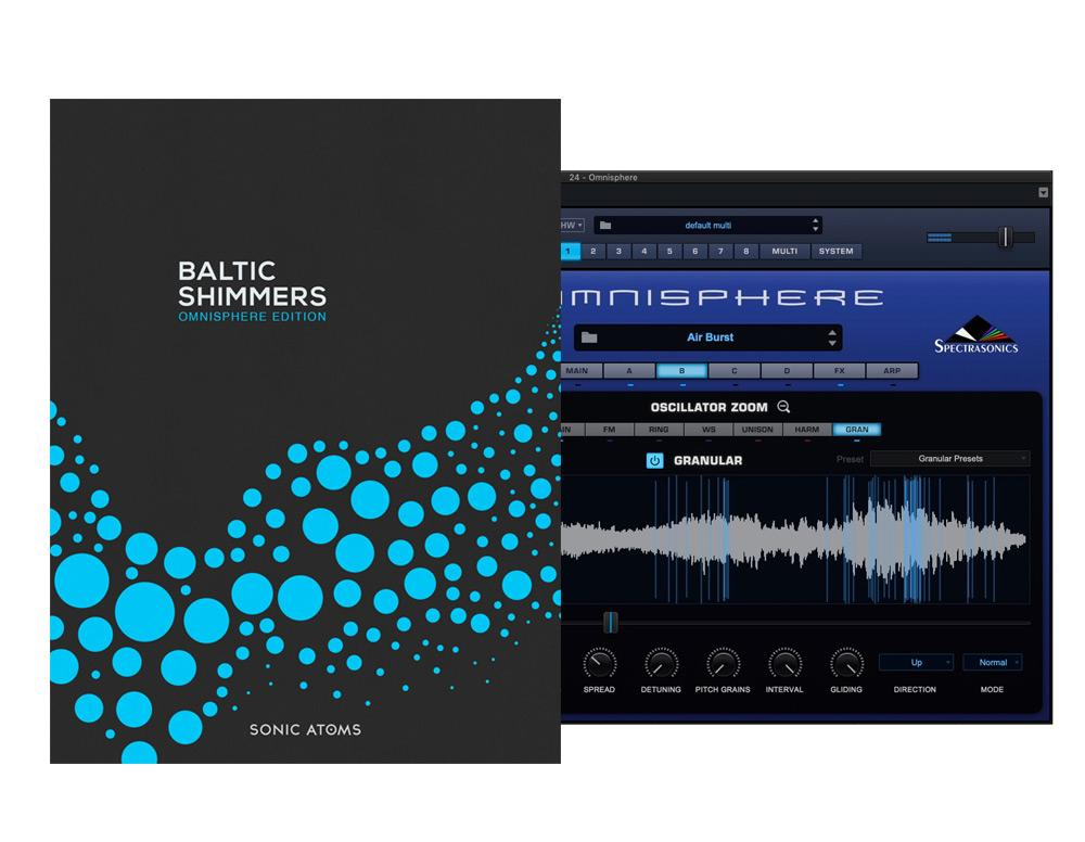Sonic Atoms Baltic Shimmers Omnisphere Edition