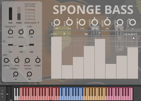 Sound Dust Sponge Bass GUI