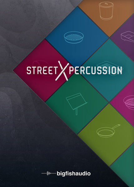Big Fish Audio Street Percussion