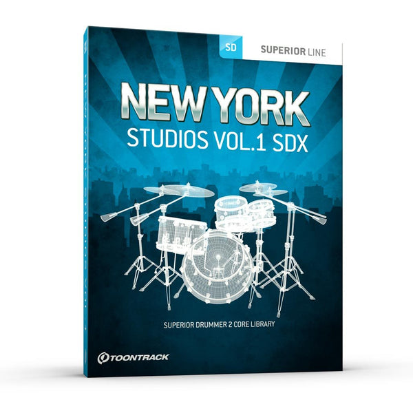 Interface Toontrack SDX: New York Studios Bundle