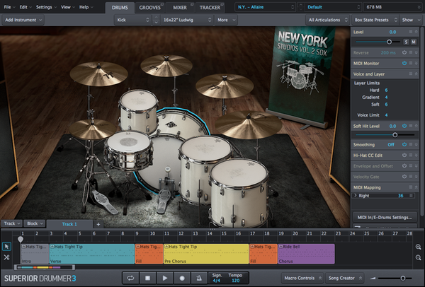 Buy Toontrack SDX: New York Studios Bundle