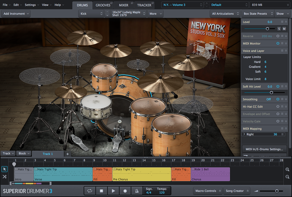 Install Toontrack SDX: New York Studios Bundle