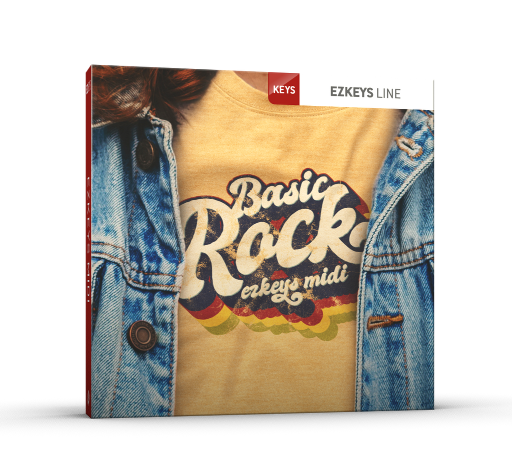 Toontrack EZkeys Basic Rock MIDI pack
