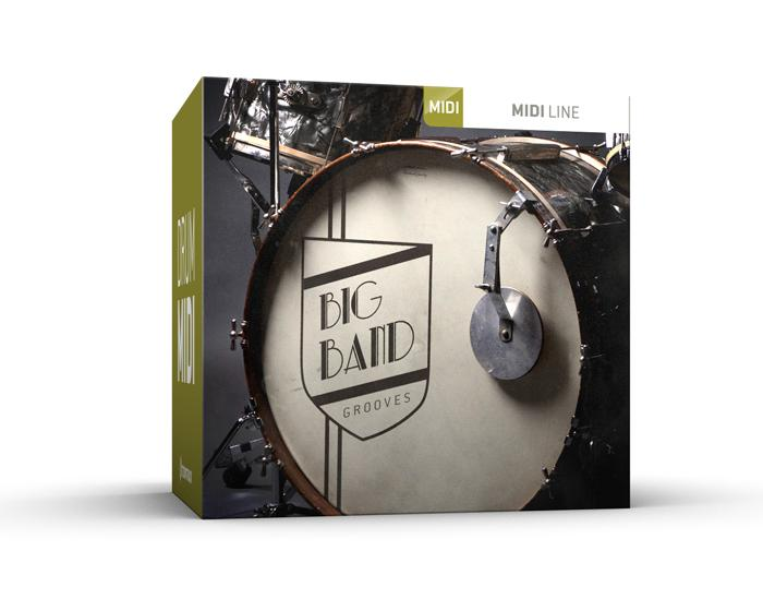 Toontrack Big Band Grooves MIDI
