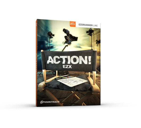 Toontrack EZX - Action! EDUCATION