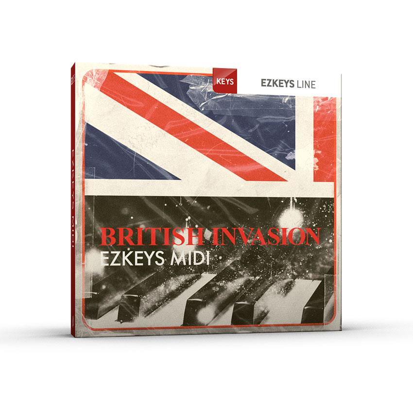 Toontrack British Invasion EZkeys MIDI Pack